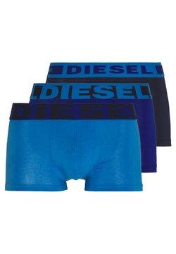 Diesel - UMBX DAMIEN BOXER 3 PACK - Panties - blue/blue/blue