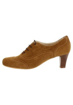 Evita - GIUSY - Ankle Boot - cognac
