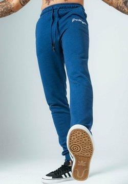 Hype - PETROL SIGNATURE - Jogginghose - blue