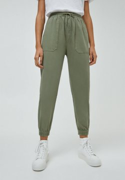 PULL&BEAR - Jogginghose - dark green