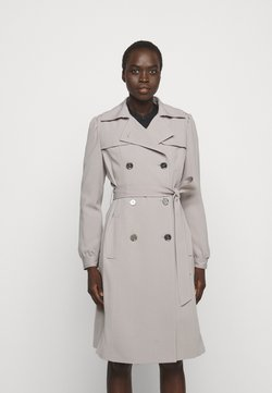 MICHAEL Michael Kors - DOUBLE BREASTED PUFF SLEEVE DRAPERY - Trenchcoat - nickel