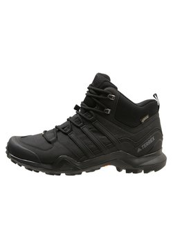 adidas Performance - TERREX SWIFT R2 MID GTX GORETEX HIKING SHOES - Hiking shoes - core black