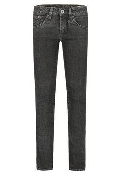 Garcia - Slim fit jeans - black denim