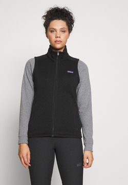Patagonia - BETTER SWEATER - Weste - black