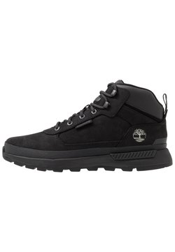 Timberland - FIELD TREKKER MID - Bottines à lacets - black