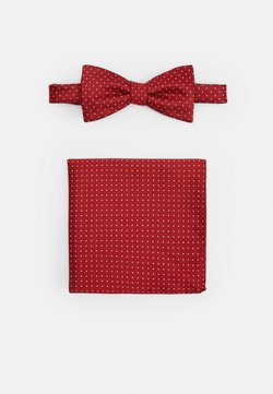 Selected Homme - SLHLANDON BOWTIE GIFTBOX SET - Einstecktuch - bright red