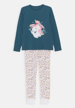 Name it - NKFNIGHTSET UNICORN SET - Pyjama - real teal