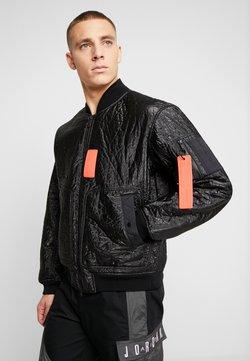 Jordan - Bomber Jacket - black/infrared
