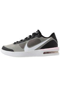 Nike Performance - COURT AIR MAX VAPOR WING - Buty tenisowe uniwersalne - black/white/pink foam