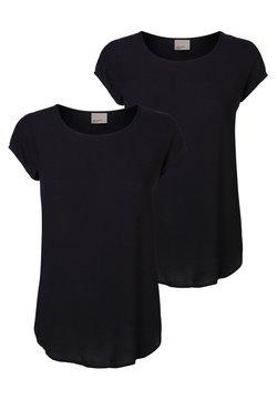 Vero Moda - 2 PACK - T-shirt basic - black