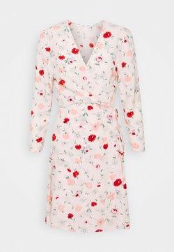 Samsøe Samsøe - BRITT WRAP DRESS - Freizeitkleid - pink