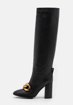 N°21 - BOOTS - High Heel Stiefel - black