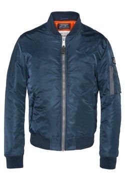 Schott - Giubbotto Bomber - Navy blue