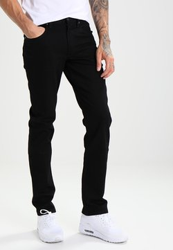 Lee - BROOKLYN  - Straight leg -farkut - clean black