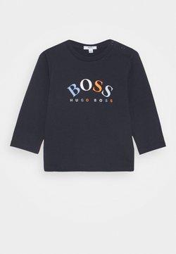 BOSS Kidswear - LONG SLEEVE BABY - Longsleeve - navy