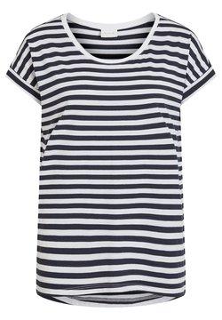Vila - VIDREAMERS PURE  - T-Shirt print - navy blazer