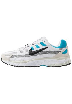 Nike Sportswear - P-6000 - Sneakers - white/black/laser blue/light smoke grey/vast grey/photon dust