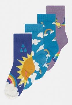 Happy Socks - UNICORN & RAINBOW & AFTR RAIN 4 PACK UNISEX - Calcetines - multi-coloured