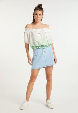 myMo - Bluse - weiss wasser