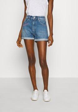 Replay - Shorts di jeans - light blue