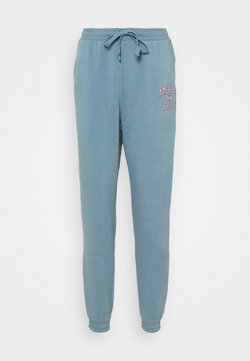 American Eagle - BRANDED PANT - Jogginghose - blue