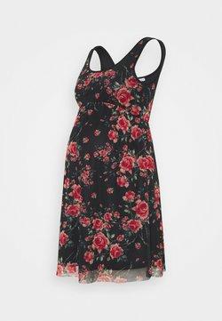 Anna Field MAMA - Vestido informal - black/pink