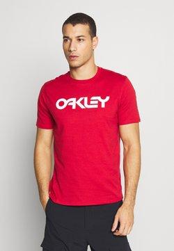 Oakley - MARK II TEE - T-Shirt print - red