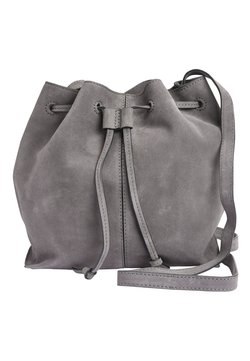 Next - BUCKET BAG - Umhängetasche - grey