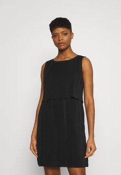 ONLY - ONLMARIN LAYERING SHORT DRESS - Vestido ligero - black
