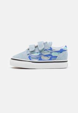 Vans - OLD SKOOL UNISEX - Sneakersy niskie - blue fog/baya blue/true white/black/natural drill