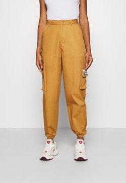 adidas Originals - TRACK PANT - Cargo trousers - mesa