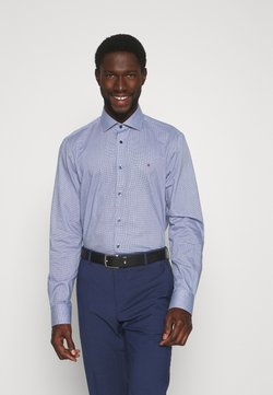 Tommy Hilfiger Tailored - HOUNDSTOOTH CLASSIC - Businesshemd - blue