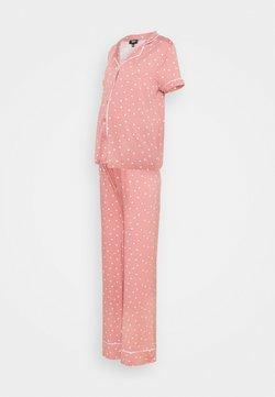 Missguided Maternity - PIPED SHIRT NIGHT - Pyjama - rose