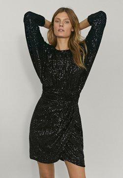Massimo Dutti - Cocktail dress / Party dress - black