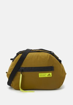 adidas Performance - FAV DUFFEL BAG - Sporttasche - wild moss/acid yellow