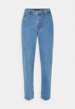 Missguided Petite - FRONT RIOT MOM - Jeans Relaxed Fit - blue