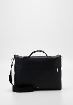 Zign - LEATHER - Aktentasche - black