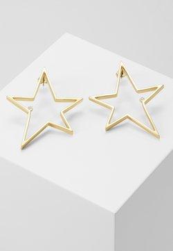 KARL LAGERFELD - OPEN STAR LARGE - Ohrringe - gold-coloured