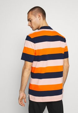 Nike Sportswear - MATCHUP STRIPE - Polo - midnight navy