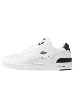 Lacoste - T-CLIP - Sneaker low - white/navy