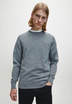 Calvin Klein Tailored - Trui - mid grey heather