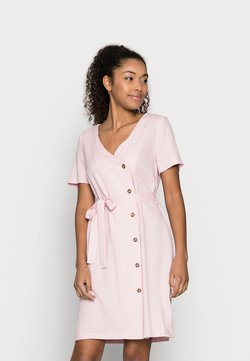 Vero Moda Petite - VMASTIMILO SHIRT DRESS - Vapaa-ajan mekko - roseate spoonbill