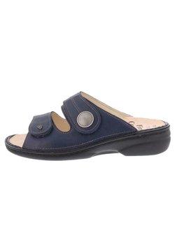 Finn Comfort - Pantolette flach - missouri blau