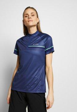 LÖFFLER - BIKE PACE - T-Shirt print - plum