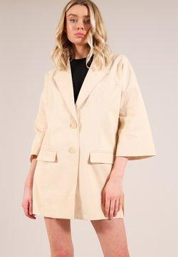 blonde gone rogue - Krótki płaszcz - beige