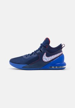 Nike Performance - AIR MAX IMPACT - Basketball shoes - blue void/white/racer blue/red crush