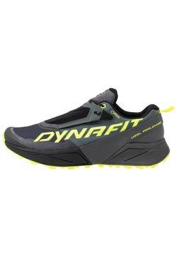 Dynafit - ULTRA 100 GTX - Zapatillas de trail running - carbon/neon yellow