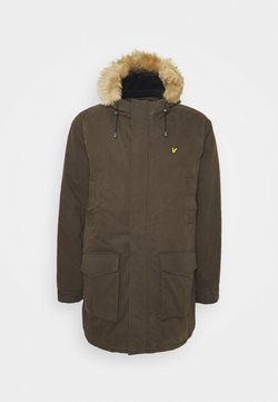 Lyle & Scott - PLUS WINTER WEIGHT LINED - Parka - trek green