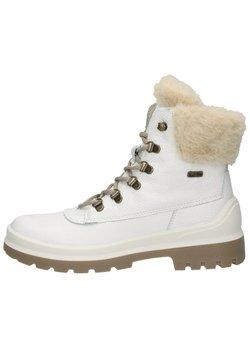 Sansibar Shoes - Snowboot/Winterstiefel - weiss/kombiniert
