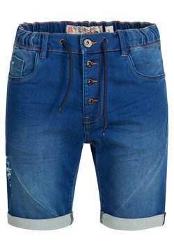 INDICODE JEANS - Jeansshort - blue